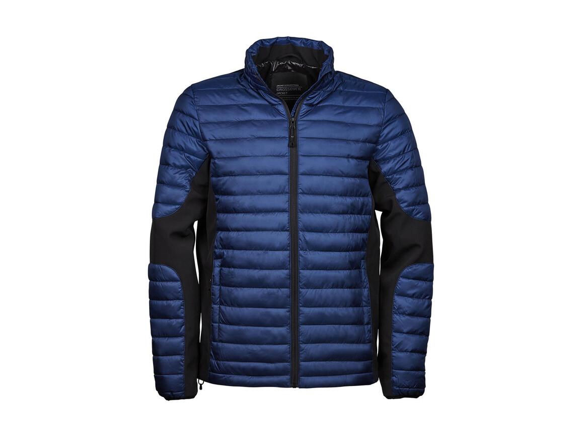 Tee Jays Crossover Jacket, Navy/Black, 2XL bedrucken, Art.-Nr. 421542707