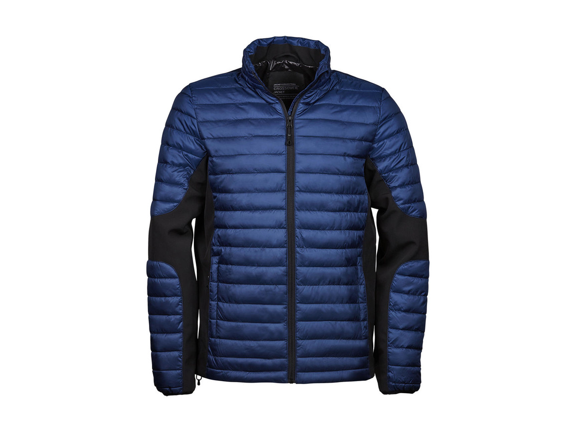Tee Jays Crossover Jacket, Navy/Black, L bedrucken, Art.-Nr. 421542705