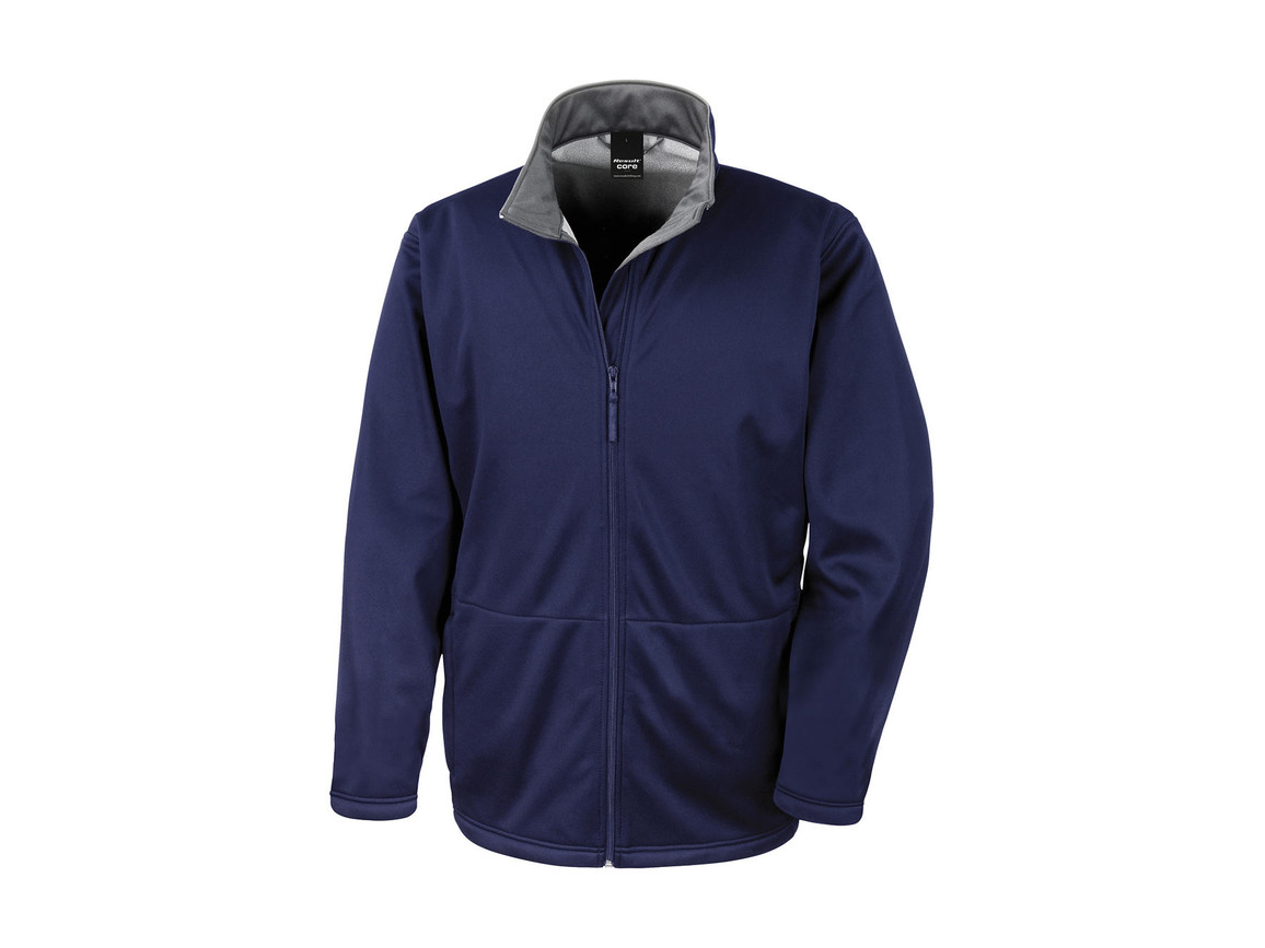 Result Core Softshell Jacket, Navy, 2XL bedrucken, Art.-Nr. 428332007