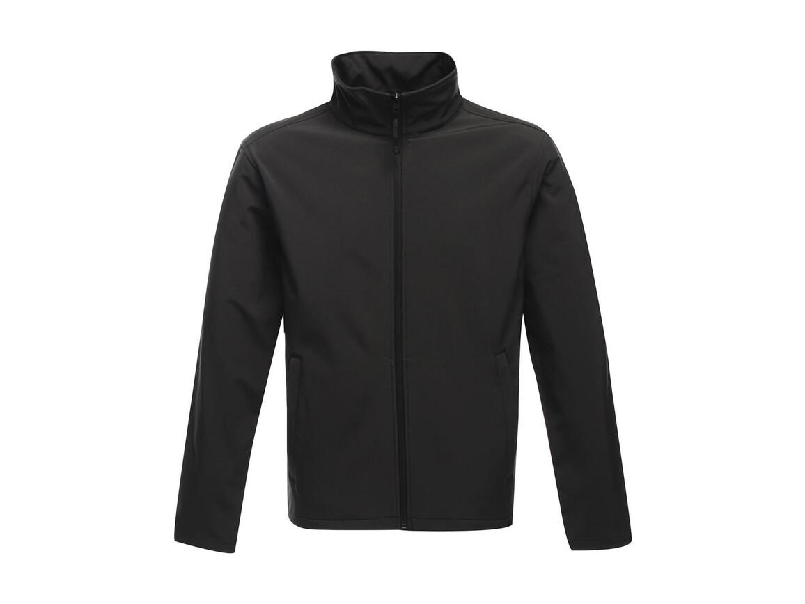 Regatta Classic Softshell Jacket, Seal Grey, M bedrucken, Art.-Nr. 431171294
