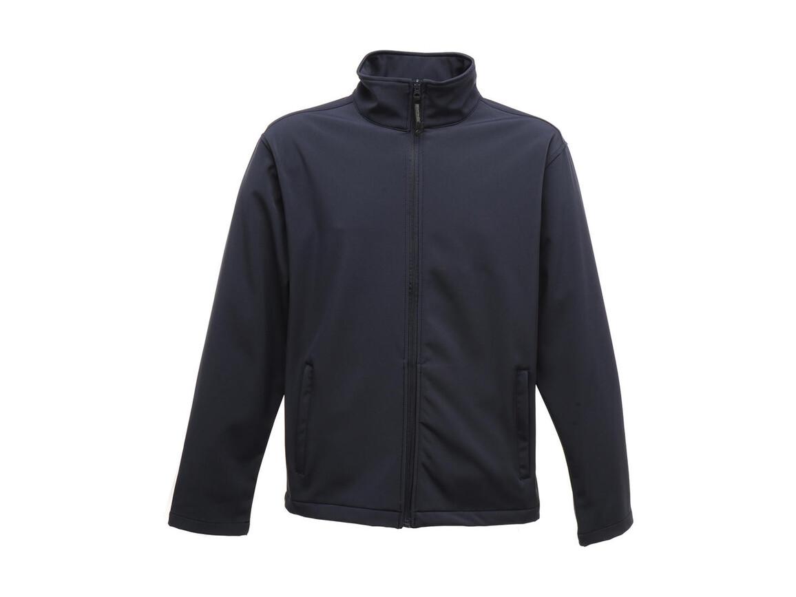 Regatta Classic Softshell Jacket, Navy, L bedrucken, Art.-Nr. 431172005