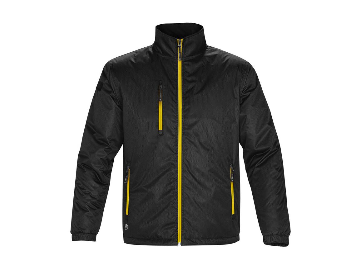 StormTech Axis Jacket, Black/Sundance, M bedrucken, Art.-Nr. 431181733