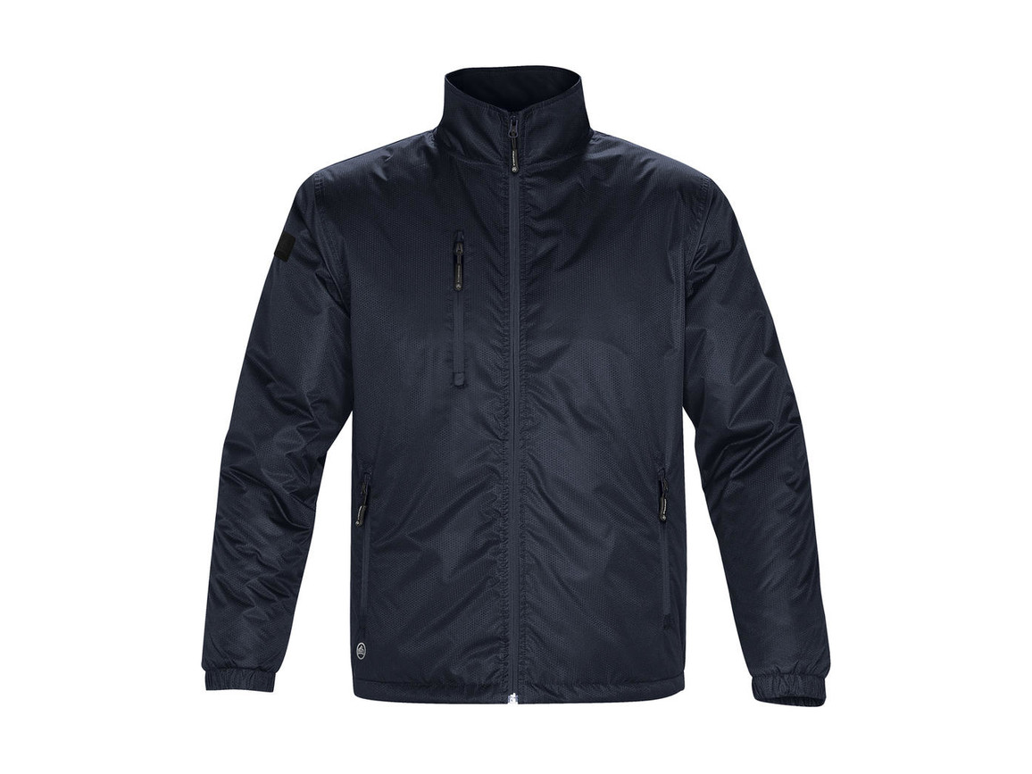 StormTech Axis Jacket, Navy/Navy, XL bedrucken, Art.-Nr. 431182525