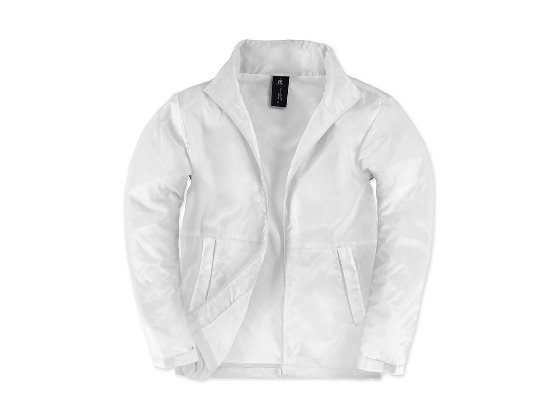 B & C Multi-Active/men Jacket, White/White, 2XL bedrucken, Art.-Nr. 432420707