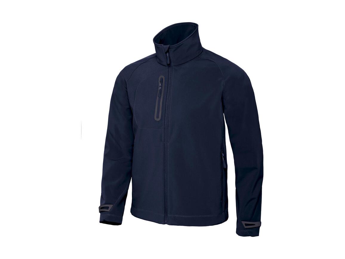 B & C X-Lite Softshell/men Jacket, Navy, XL bedrucken, Art.-Nr. 438422006
