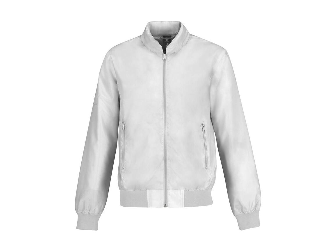 B & C Trooper/men Jacket, White/White, S bedrucken, Art.-Nr. 440420703