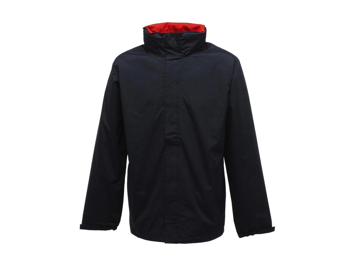 Regatta Ardmore Jacket, Navy/Classic Red, 3XL bedrucken, Art.-Nr. 461172528