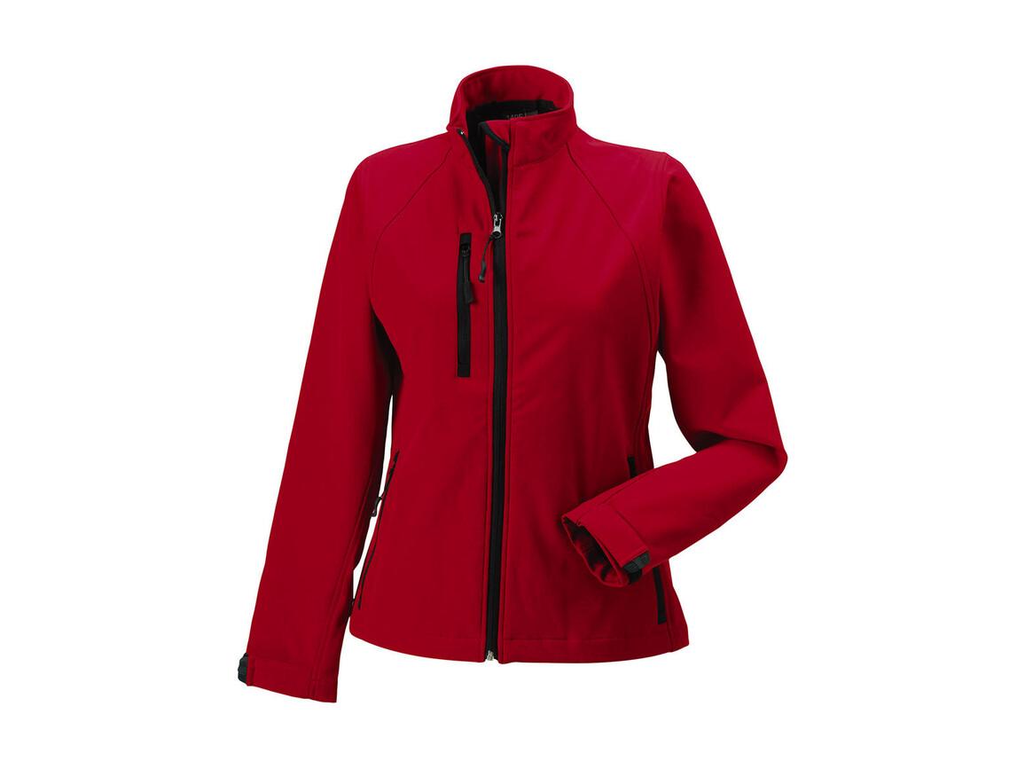 Russell Europe Ladies` Softshell Jacket, Classic Red, L (40) bedrucken, Art.-Nr. 462004015