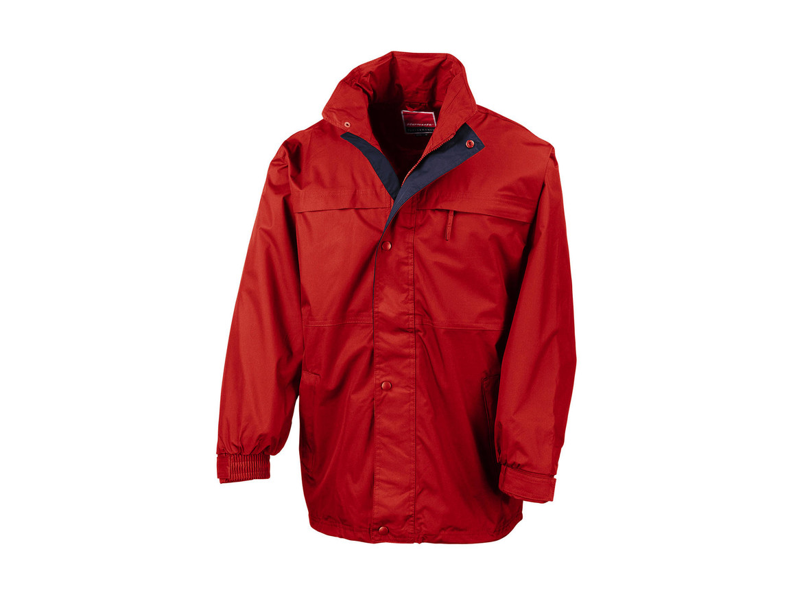 Result Mid-Season Jacket, Red/Navy, 3XL bedrucken, Art.-Nr. 467334558