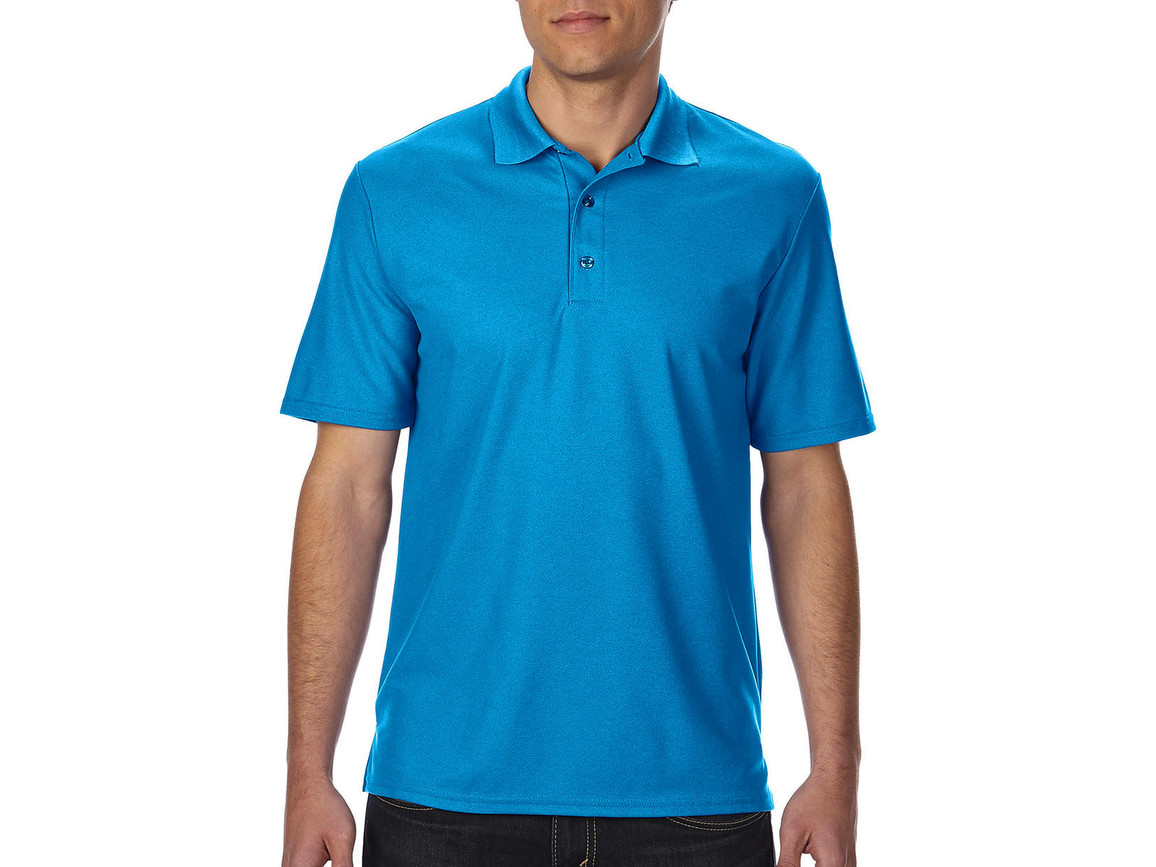 Gildan Performance® Double Piqué Polo, Sapphire, 3XL bedrucken, Art.-Nr. 543093298