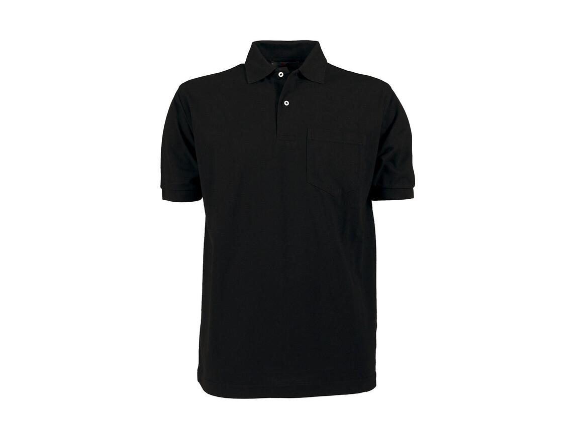 Tee Jays Pocket Polo, Black, 4XL bedrucken, Art.-Nr. 545541018
