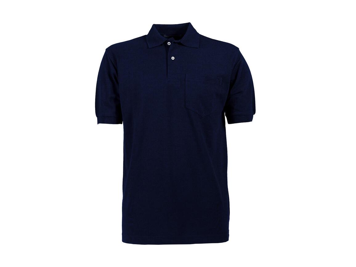 Tee Jays Pocket Polo, Navy, XL bedrucken, Art.-Nr. 545542005