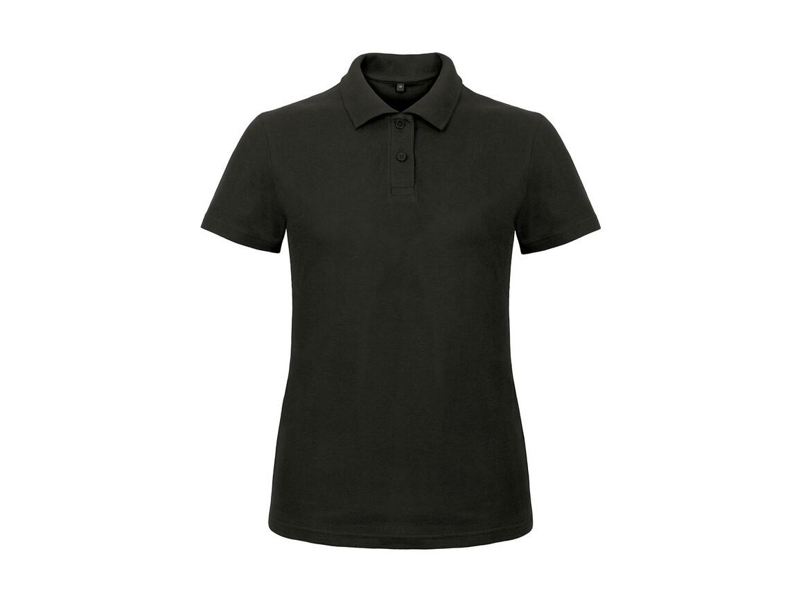 B & C ID.001/women Piqué Polo Shirt, Black, 3XL bedrucken, Art.-Nr. 547421018