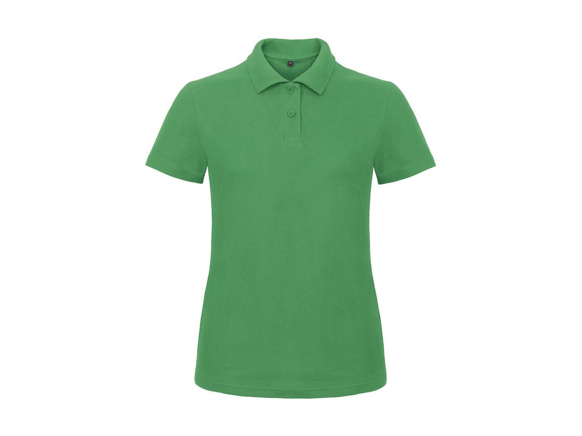 B & C ID.001/women Piqué Polo Shirt, Kelly Green, 3XL bedrucken, Art.-Nr. 547425188