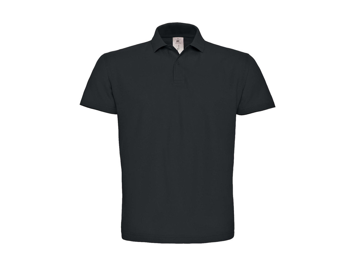 B & C ID.001 Piqué Polo Shirt, Anthracite, 3XL bedrucken, Art.-Nr. 548421408