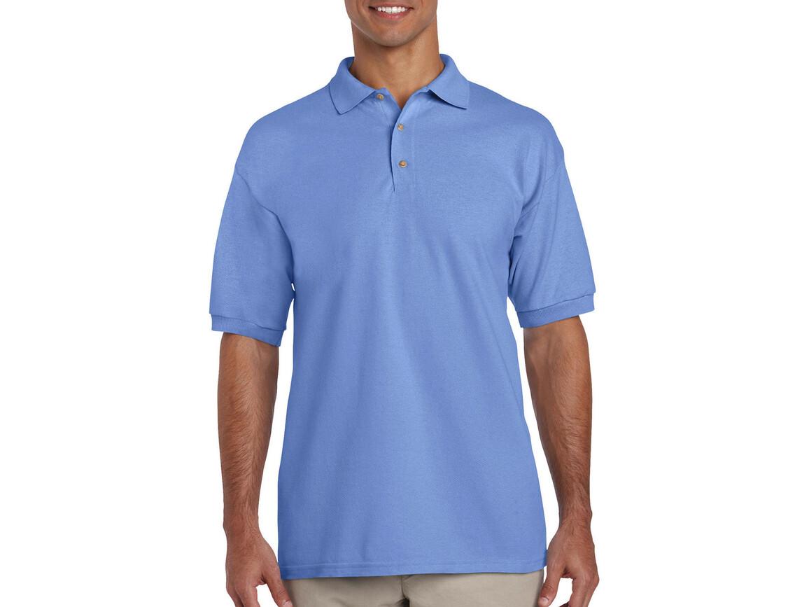 Gildan Ultra Cotton Adult Piqué Polo, Carolina Blue, 2XL bedrucken, Art.-Nr. 563093227