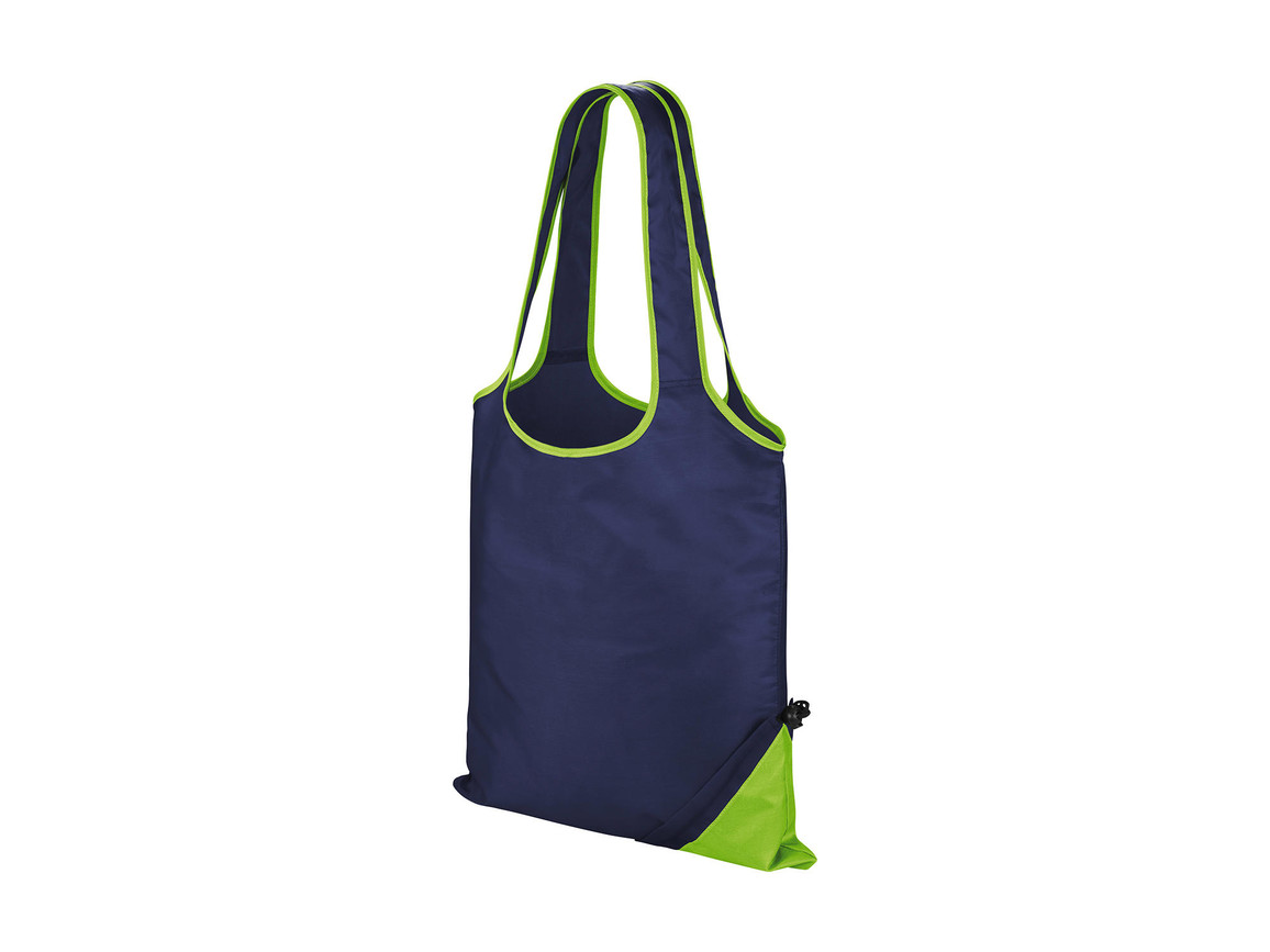 Result HDI Compact Shopper, Navy/Lime, One Size bedrucken, Art.-Nr. 600332560