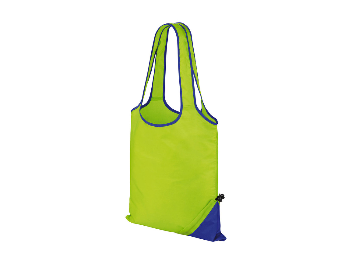 Result HDI Compact Shopper, Lime/Royal, One Size bedrucken, Art.-Nr. 600335750