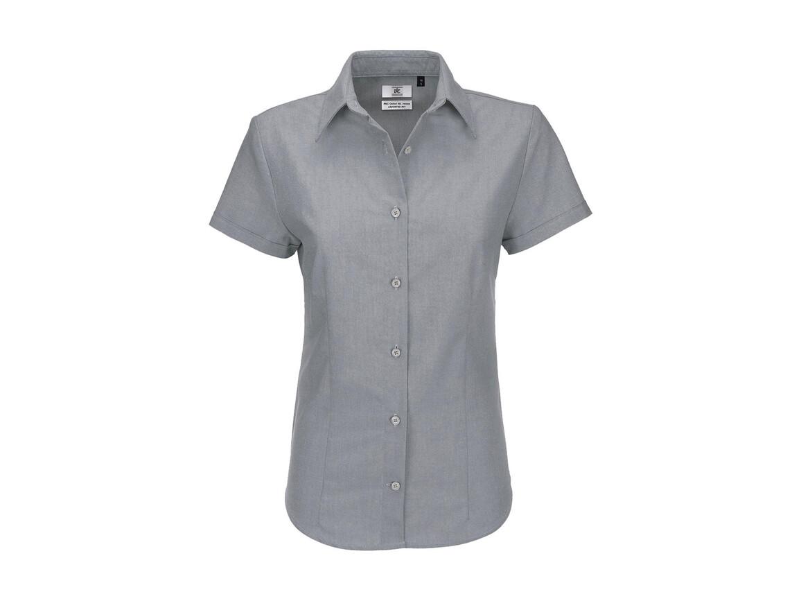 B & C Oxford SSL/women Shirt, Silver Moon, S bedrucken, Art.-Nr. 711421453