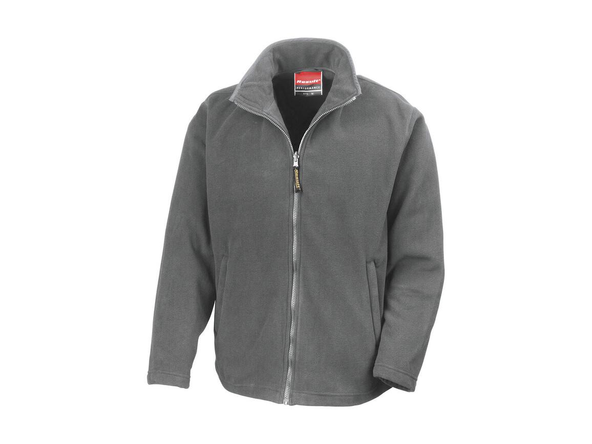 Result Horizon High Grade Microfleece Jacket, Dove Grey, S bedrucken, Art.-Nr. 870331293