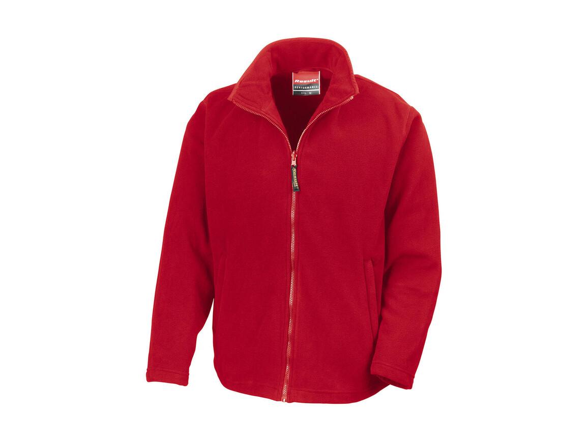 Result Horizon High Grade Microfleece Jacket, Cardinal Red, XL bedrucken, Art.-Nr. 870334016