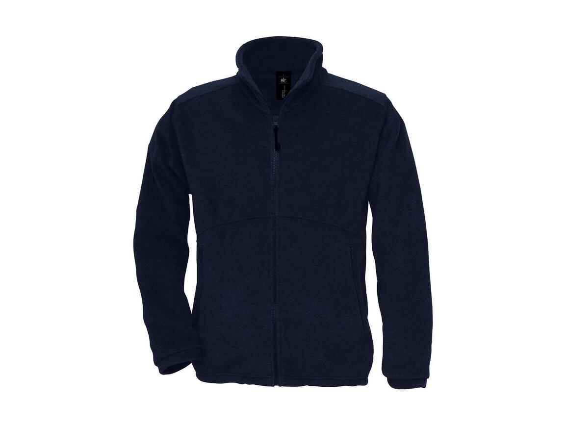 B & C Icewalker+ Outdoor Full Zip Fleece, Navy, XL bedrucken, Art.-Nr. 870422006