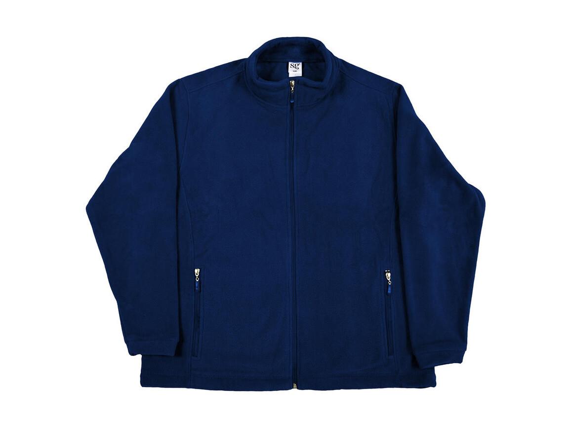 SG Full Zip Fleece, Navy, 4XL bedrucken, Art.-Nr. 870522009