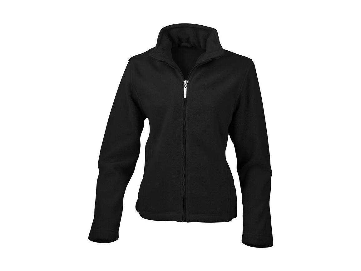 Result Ladies` Fleece Jacket, Black, M bedrucken, Art.-Nr. 885331014