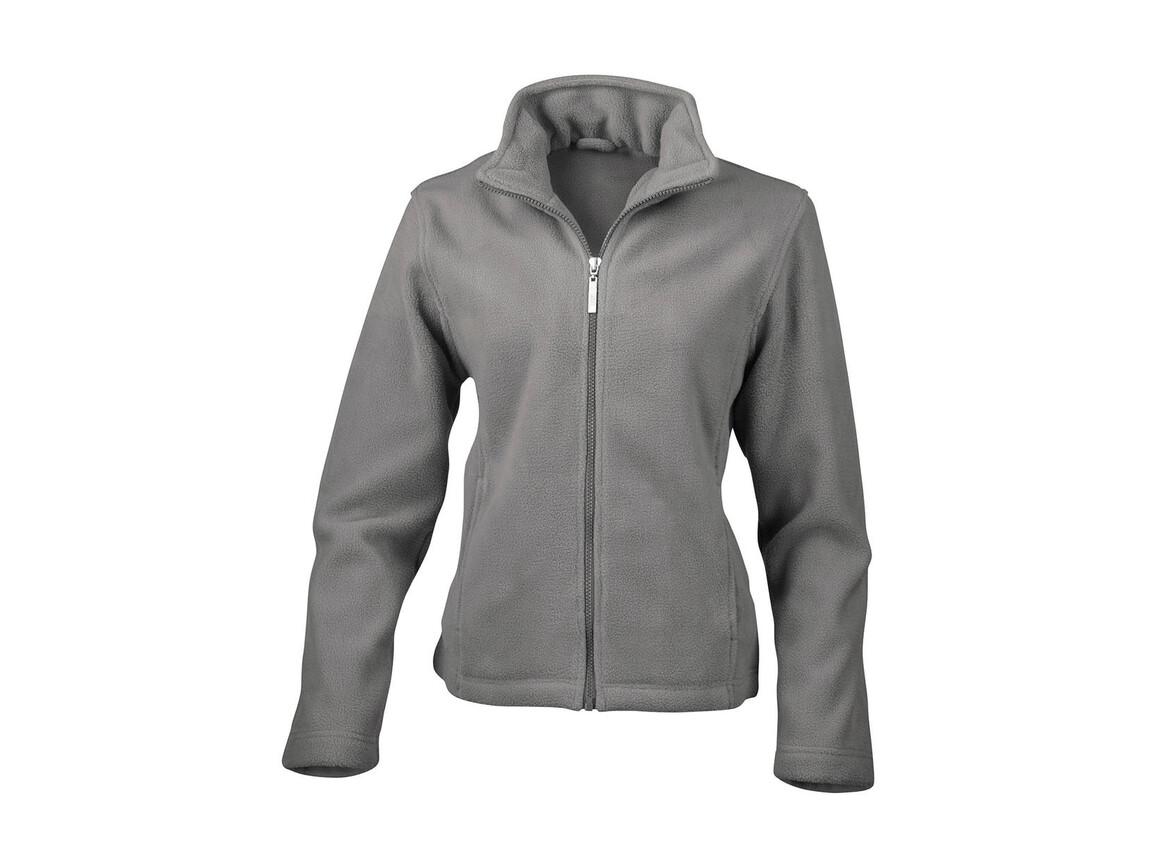 Result Ladies` Fleece Jacket, Grey, 2XL bedrucken, Art.-Nr. 885331217