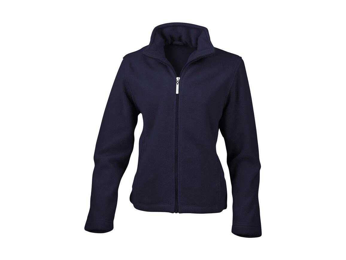 Result Ladies` Fleece Jacket, Navy, XL bedrucken, Art.-Nr. 885332006