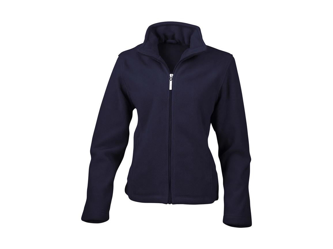 Result Ladies` Fleece Jacket, Navy, S bedrucken, Art.-Nr. 885332003