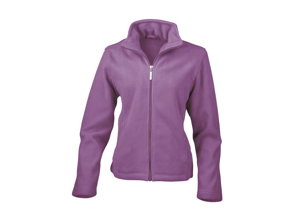 Result Ladies` Fleece Jacket, Lavender, S bedrucken, Art.-Nr. 885333453
