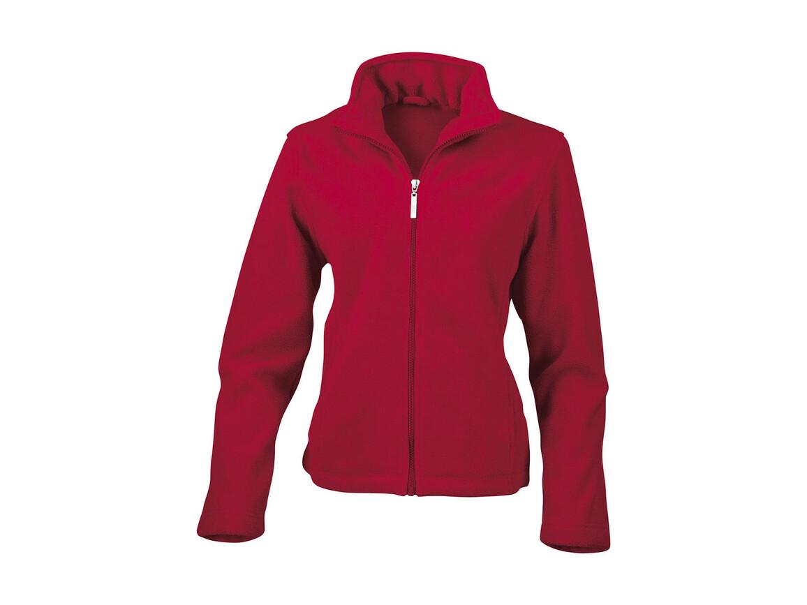 Result Ladies` Fleece Jacket, Red, S bedrucken, Art.-Nr. 885334003
