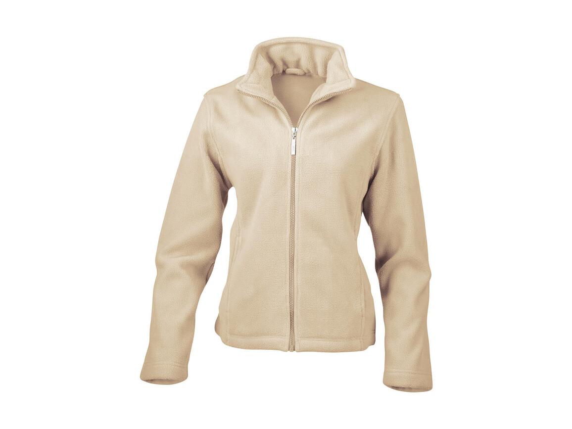 Result Ladies` Fleece Jacket, Ivory, M bedrucken, Art.-Nr. 885336304