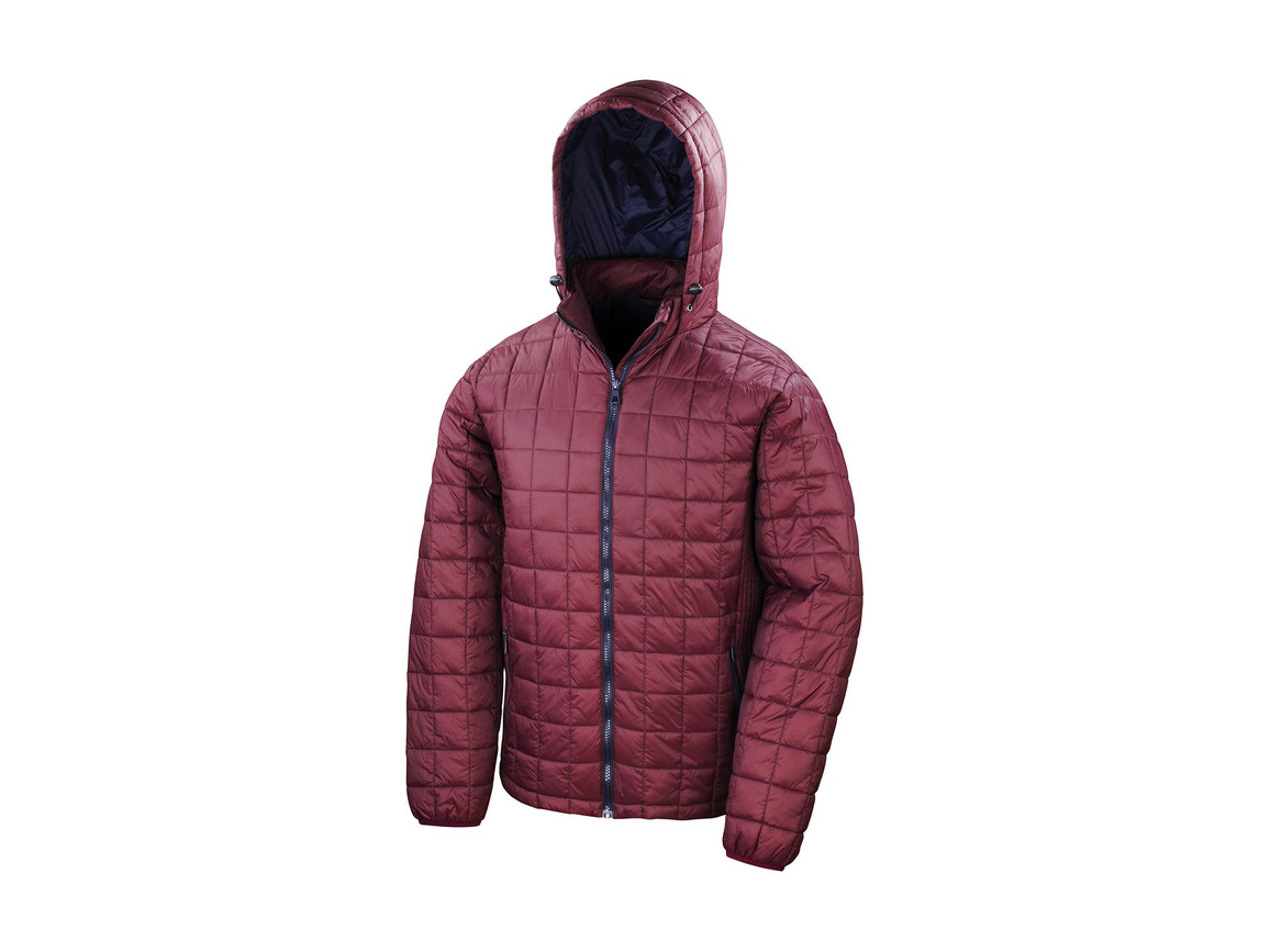 Result Blizzard Jacket, Ruby/Navy, XL bedrucken, Art.-Nr. 888334646