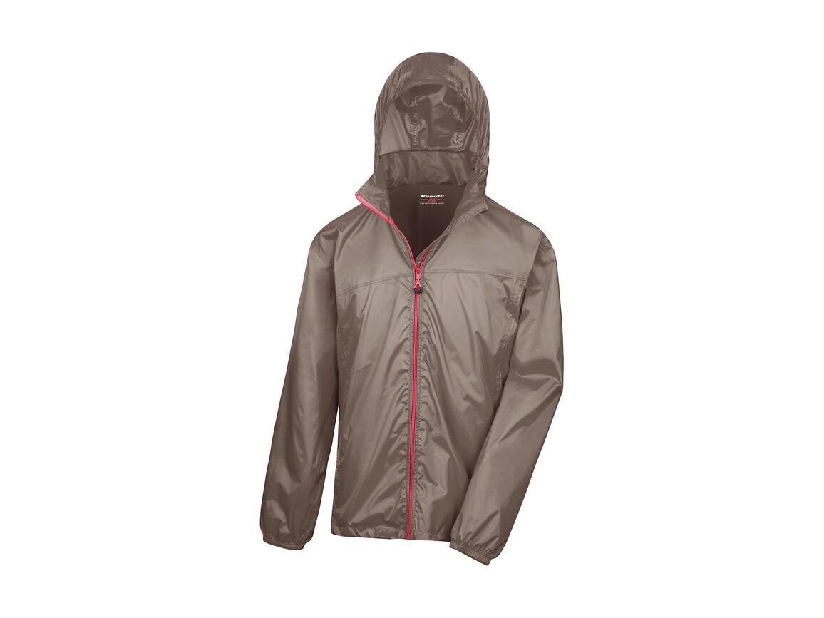 Result Hdi Quest Lightweight Stowable Jacket, Fennel/Pink, M bedrucken, Art.-Nr. 889337644