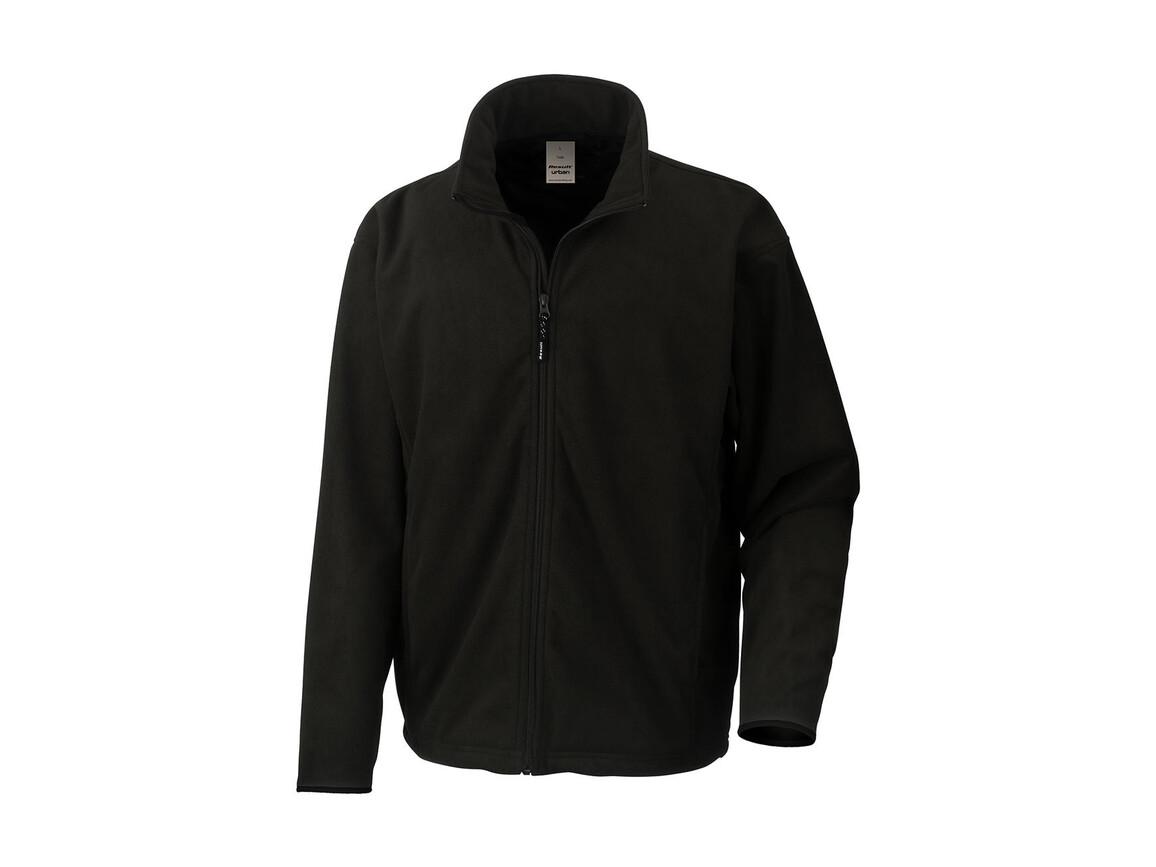 Result Climate Stopper Water Resistant Fleece, Black, L bedrucken, Art.-Nr. 890331015