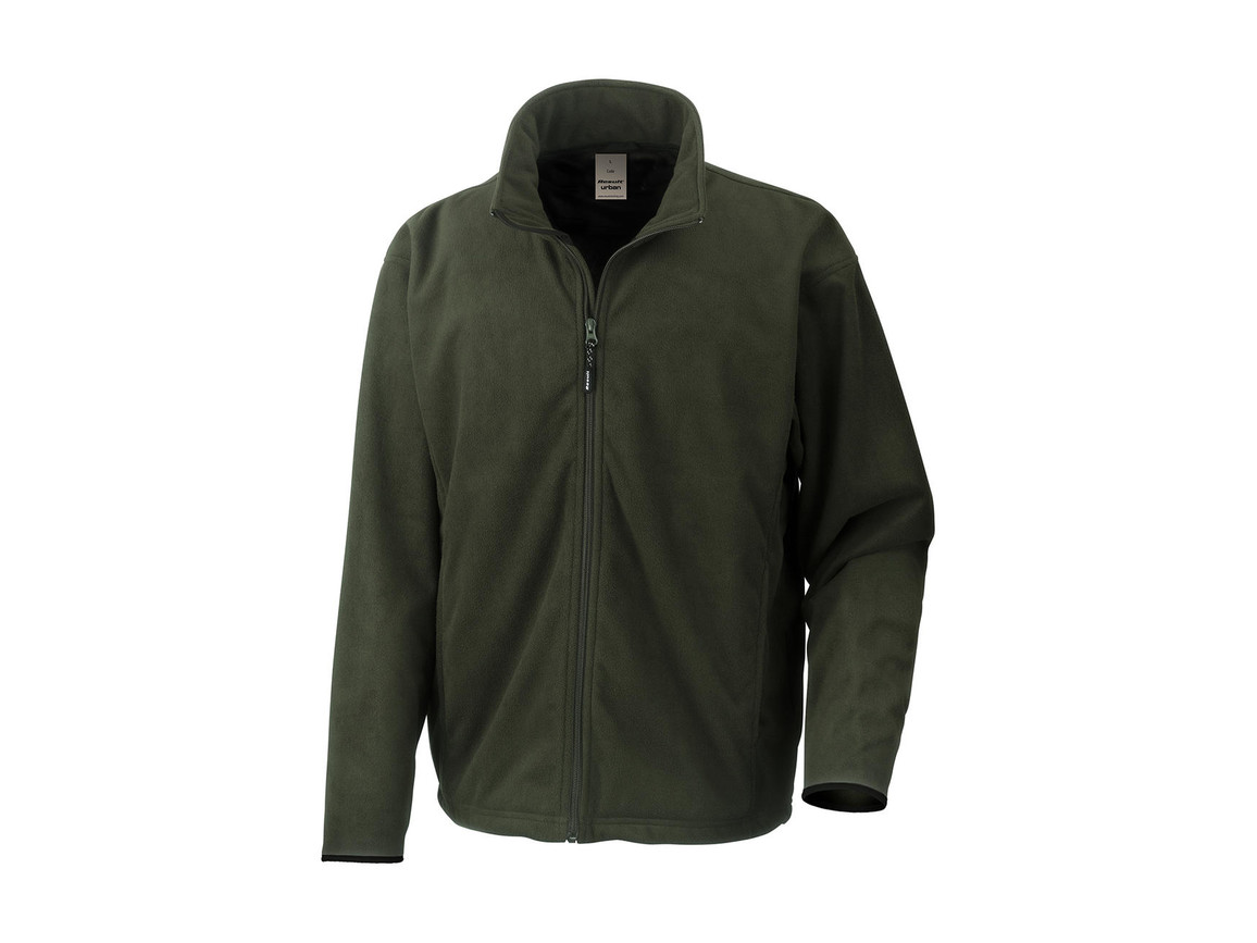 Result Climate Stopper Water Resistant Fleece, Moss Green, 3XL bedrucken, Art.-Nr. 890335168