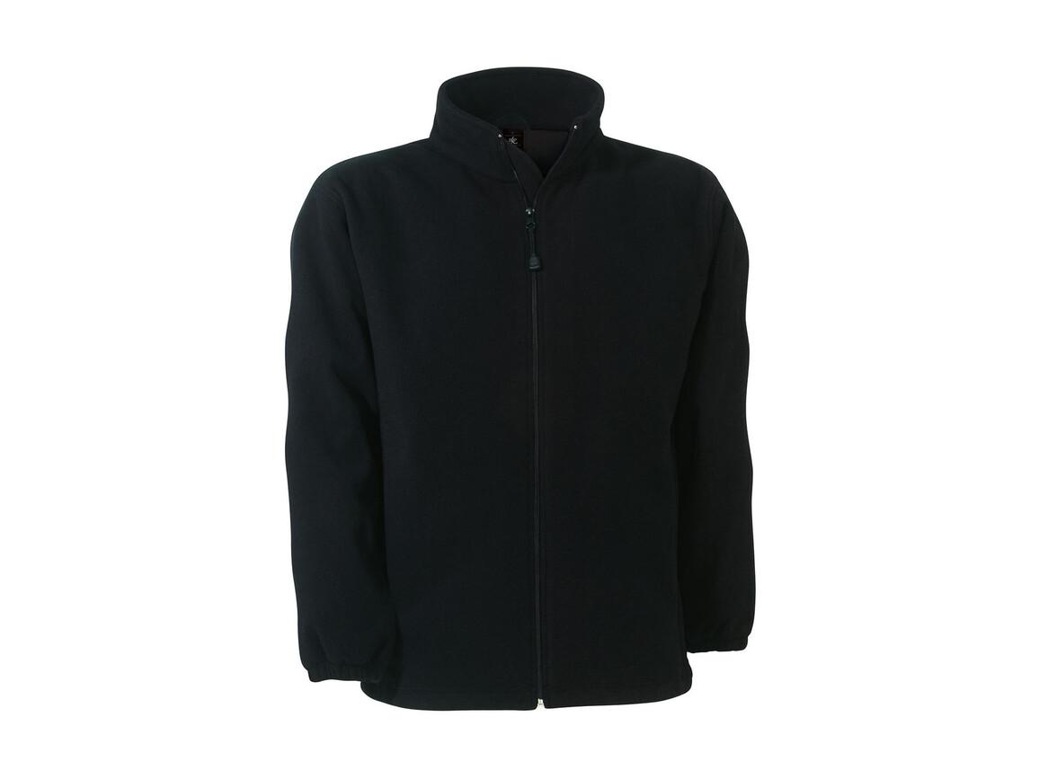 B & C WindProtek Waterproof Fleece Jacket, Black, S bedrucken, Art.-Nr. 890421013
