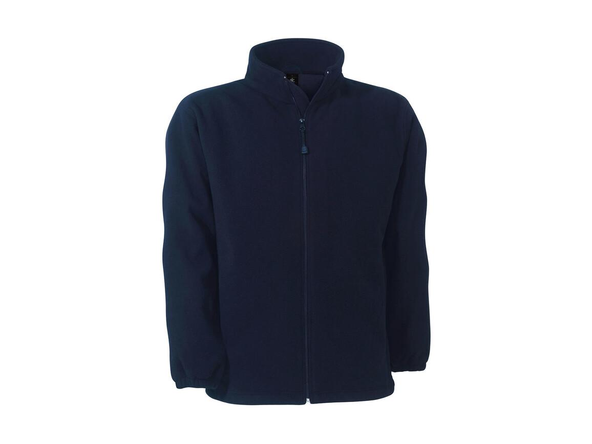 B & C WindProtek Waterproof Fleece Jacket, Navy, 2XL bedrucken, Art.-Nr. 890422007