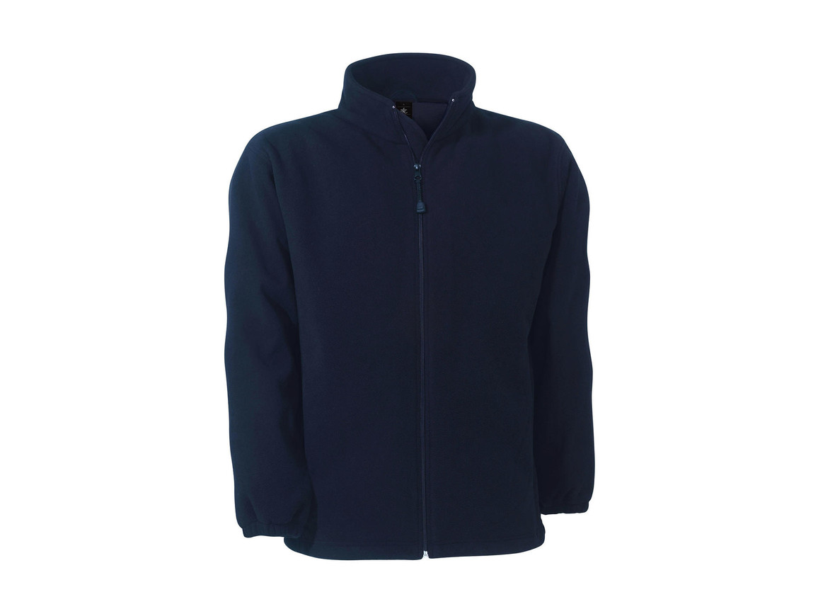 B & C WindProtek Waterproof Fleece Jacket, Navy, M bedrucken, Art.-Nr. 890422004