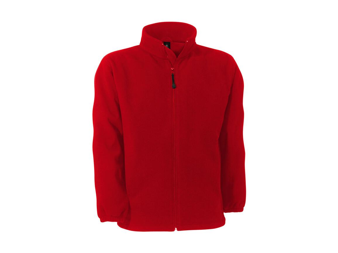 B & C WindProtek Waterproof Fleece Jacket, Red, 2XL bedrucken, Art.-Nr. 890424007