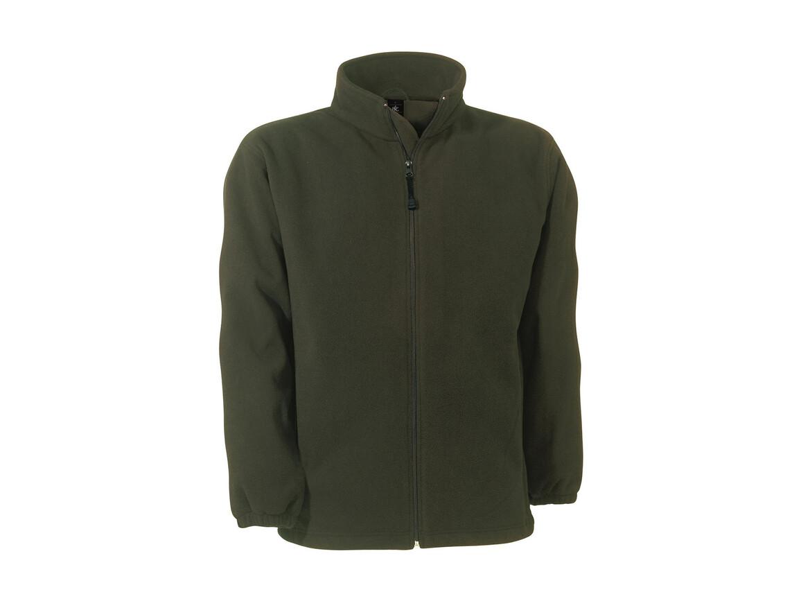 B & C WindProtek Waterproof Fleece Jacket, Olive, S bedrucken, Art.-Nr. 890425303