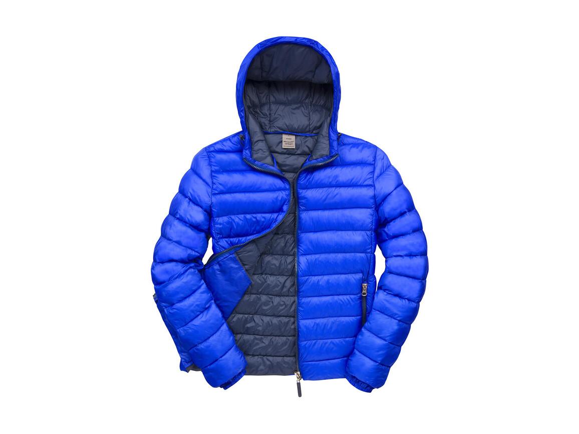 Result Snow Bird Hooded Jacket, Royal/Navy, M bedrucken, Art.-Nr. 891333664