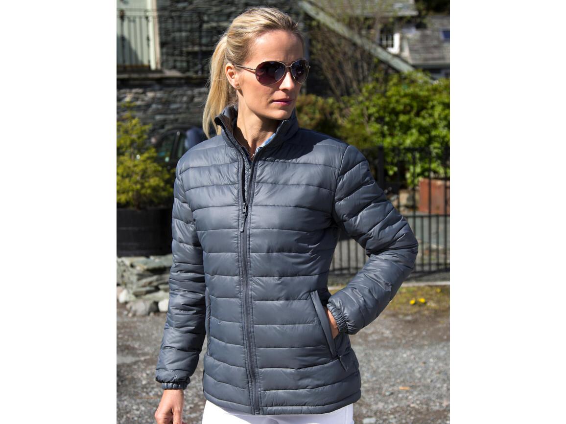 Result Ladies` Ice Bird Padded Jacket, Navy, M (12) bedrucken, Art.-Nr. 893332004