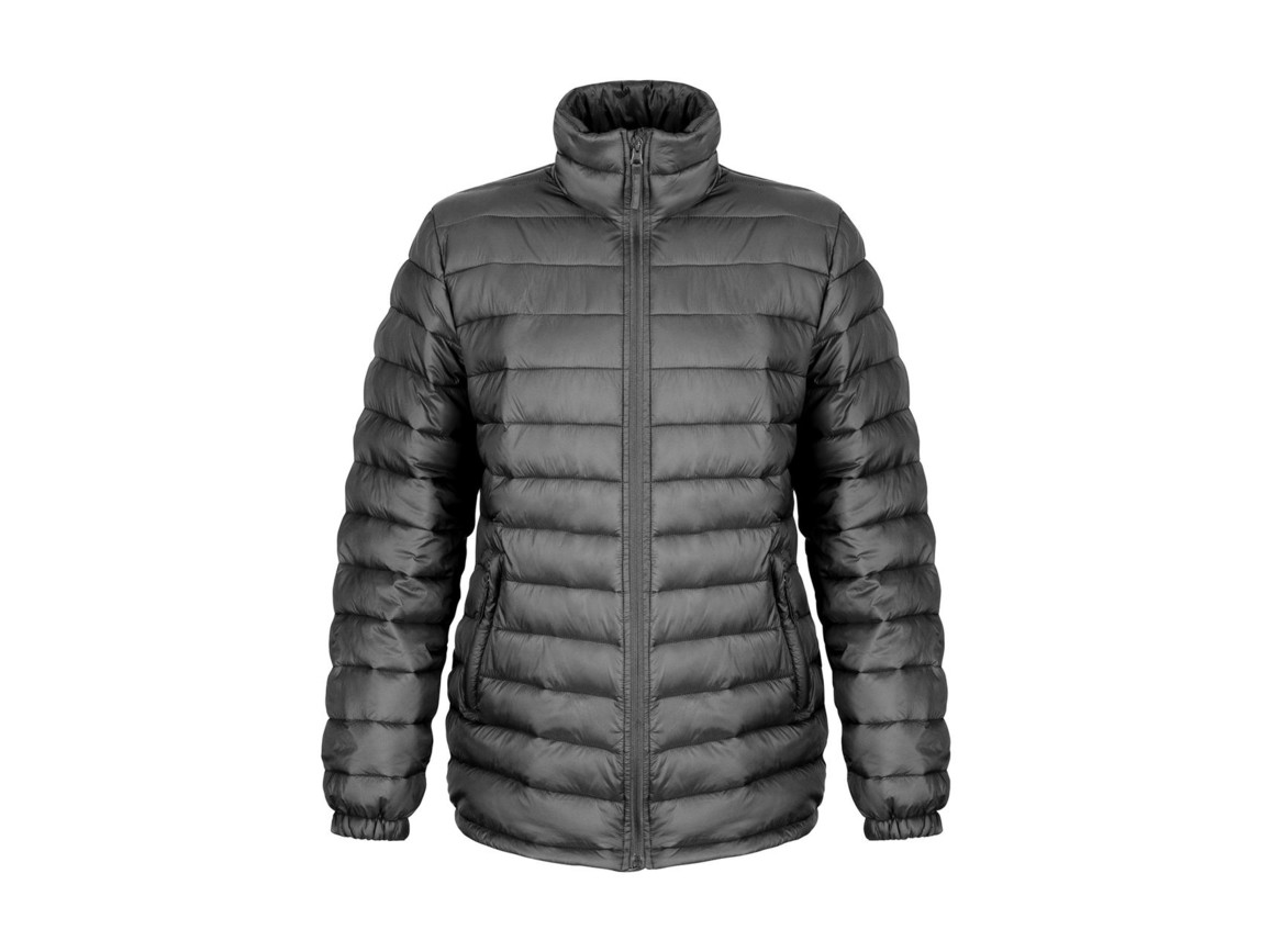 Result Ladies` Ice Bird Padded Jacket, Black, L (14) bedrucken, Art.-Nr. 893331015