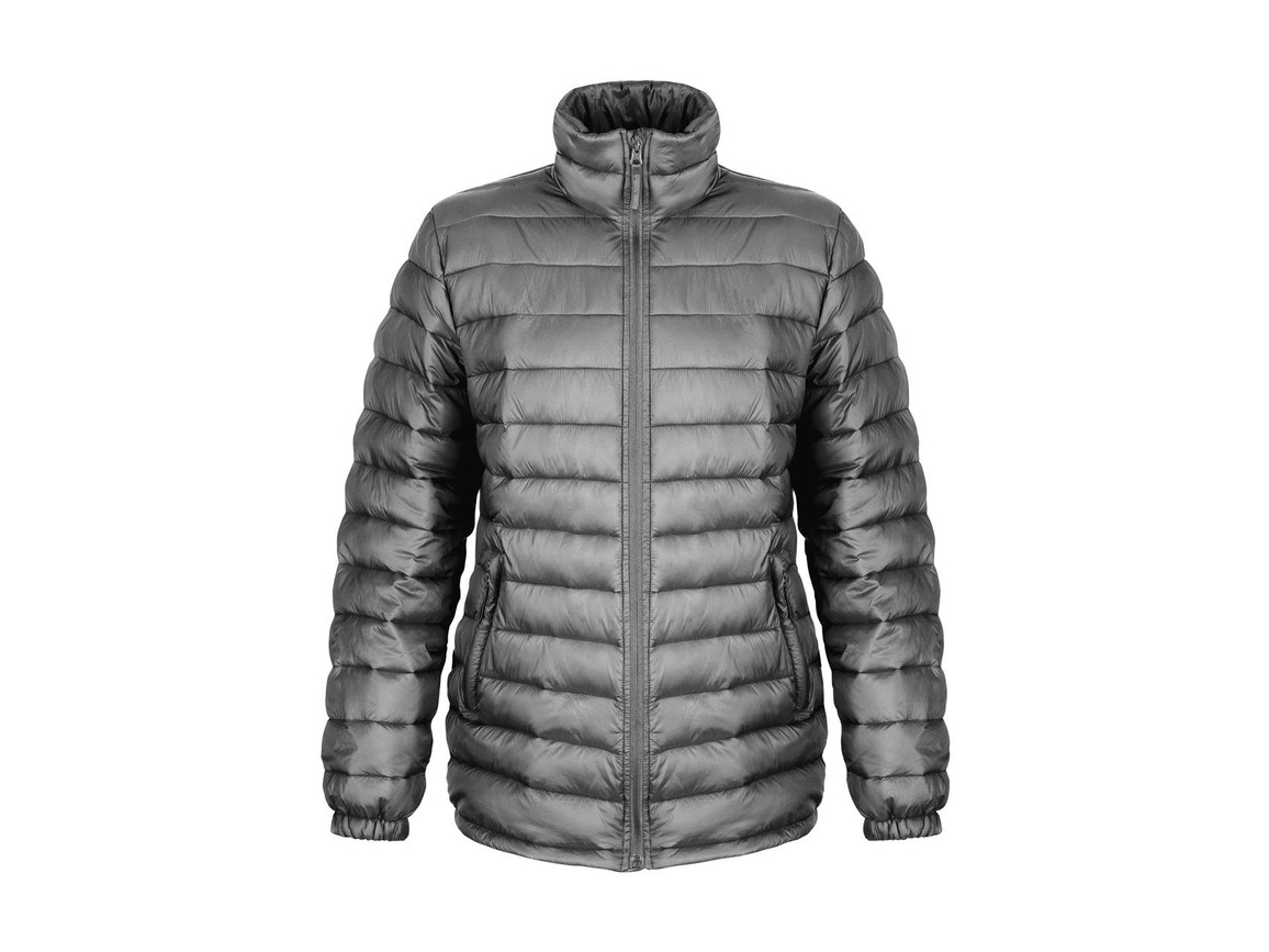Result Ladies` Ice Bird Padded Jacket, Frost Grey, L (14) bedrucken, Art.-Nr. 893331265
