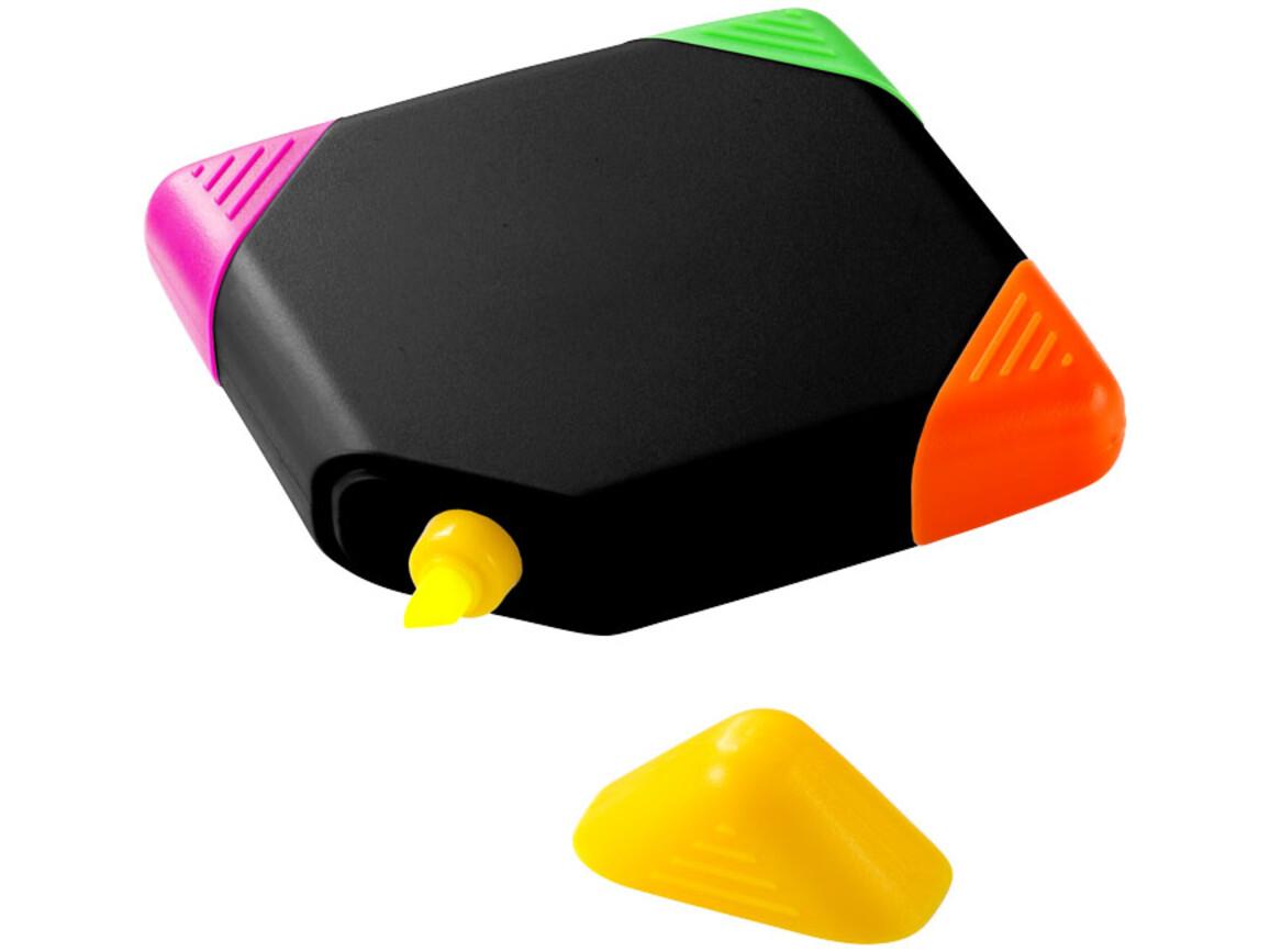 Trafalgar quadratischer vierfarbiger Marker, schwarz bedrucken, Art.-Nr. 10679100