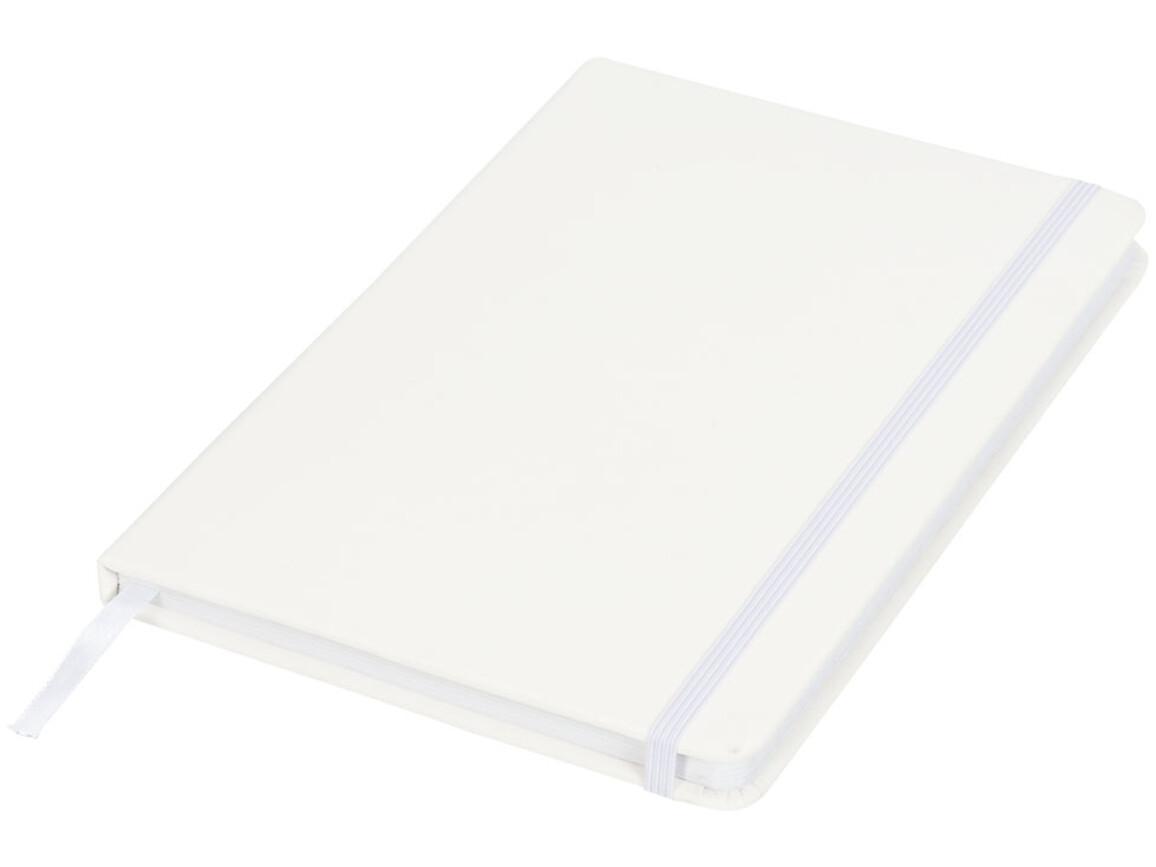 Spectrum A5 Notizbuch mit gepunkteten Seiten, weiss bedrucken, Art.-Nr. 10709002
