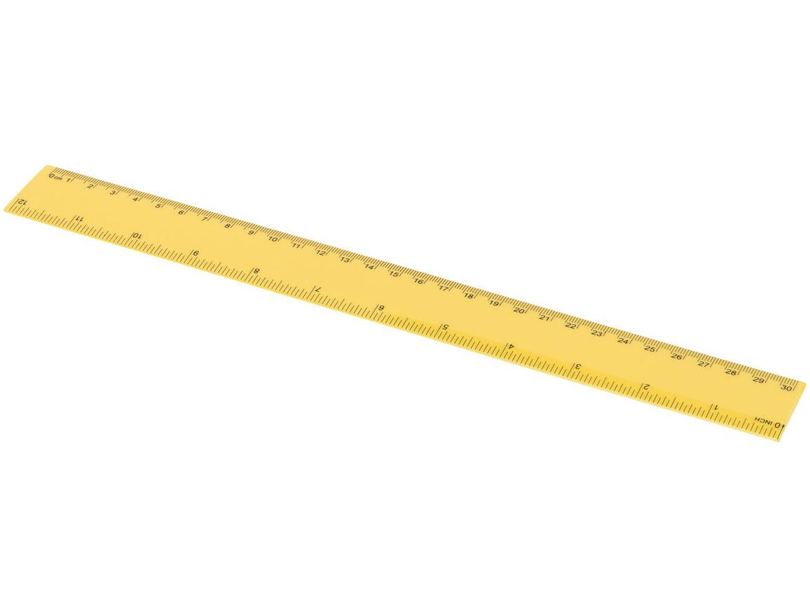 Ruly 30 cm Lineal, gelb bedrucken, Art.-Nr. 10728604